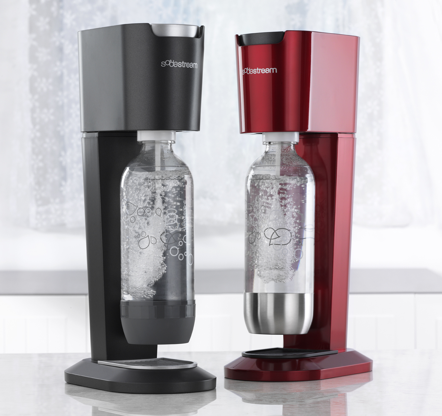 goodbye bottles cans hello sodastream it 39 s called clean living. Black Bedroom Furniture Sets. Home Design Ideas